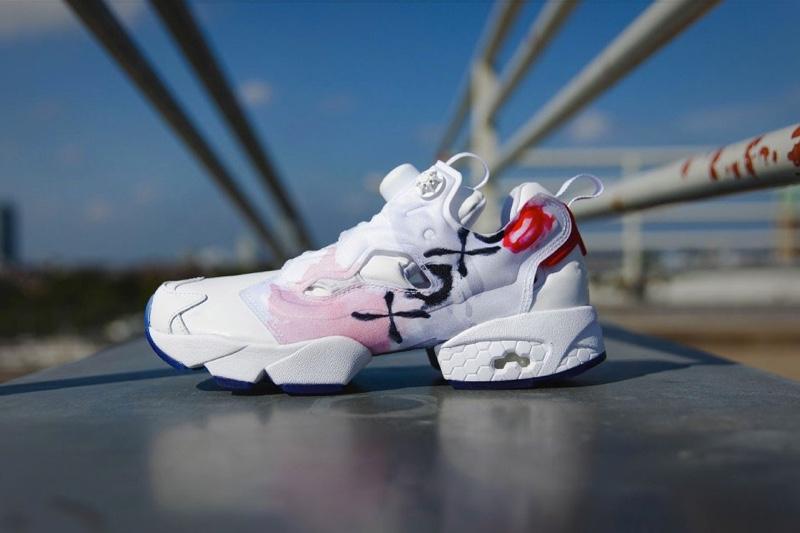 Reebok Instapump Fury 'Valentine' sneakers