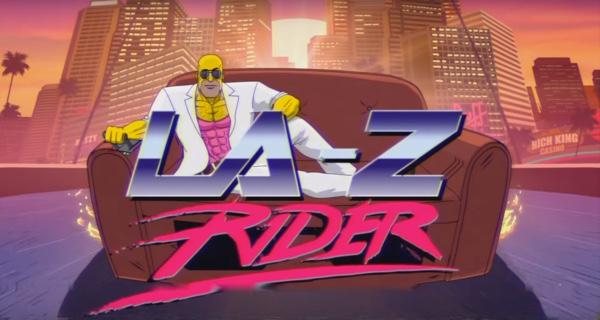 The Simpsons La-Z Rider Cough Gag