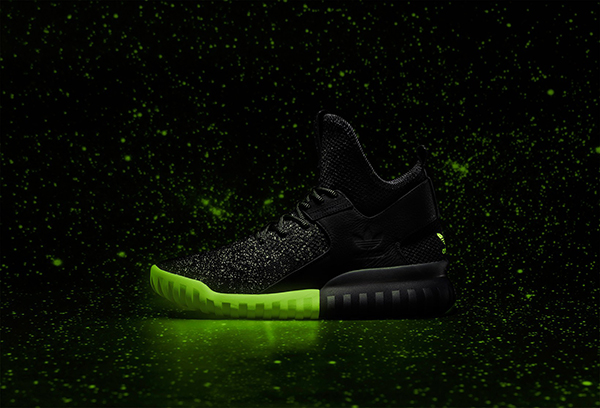 adidas Originals Tubular X Primeknit 'Glow In The Dark' sneakers