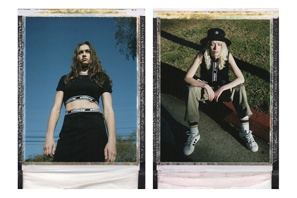 Stussy Womens 2016 Spring/Summer Polaroid Lookbook