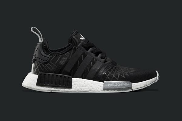 adidas Originals NMD_R1 sneakers in Mesh/Suede en Neoprene