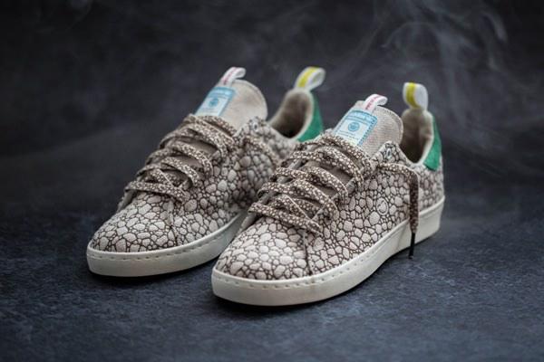 BAIT x Adidas Skateboarding Stan Smith 'Happy 420' sneakers 1