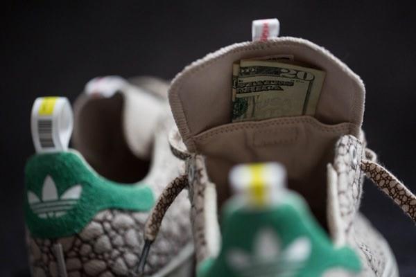BAIT x Adidas Skateboarding Stan Smith 'Happy 420' sneakers 6
