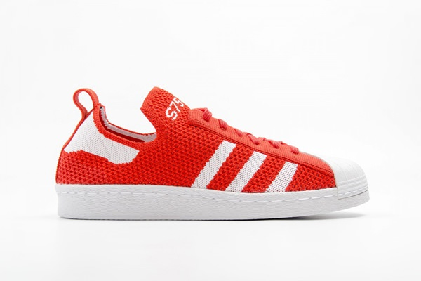 adidas Originals Superstar 80s Primeknit 'Luscious Red' Sneakers 1