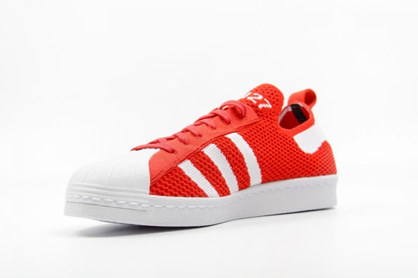 adidas Originals Superstar 80s Primeknit 'Luscious Red' Sneakers 2