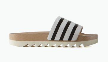 Adidas Adilette Wood Slides 1