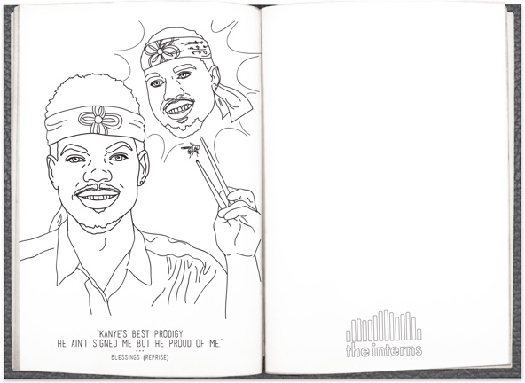 Coloring Book Chance Tracklist Chance The Rapper S