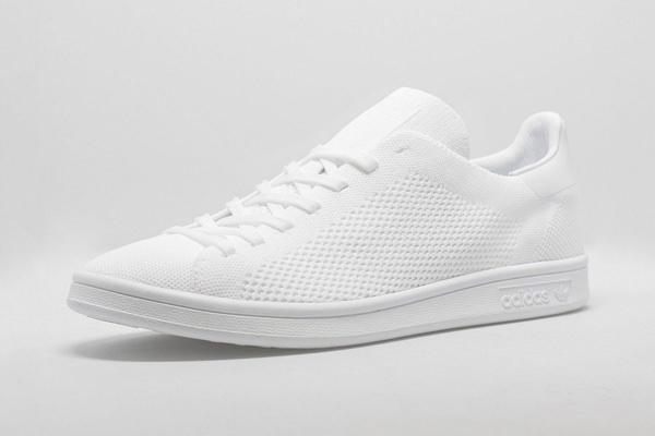 adidas Originals Stan Smith Primeknit 'Triple White' Sneakers 1