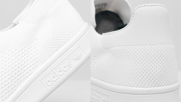 adidas Originals Stan Smith Primeknit 'Triple White' Sneakers 4