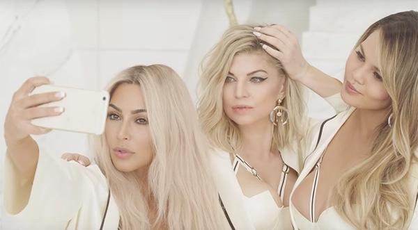 Fergie – 'M.I.L.F. $' Video met Kim Kardashian, Chrissy ...