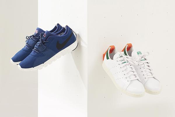 Sneakers opbergen en tentoonstellen met Staeckler