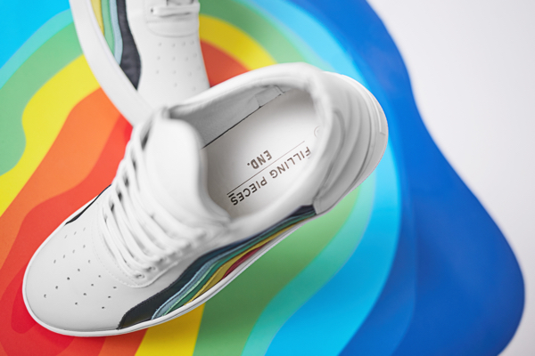 END x Filling Pieces Heat Map Sneakers