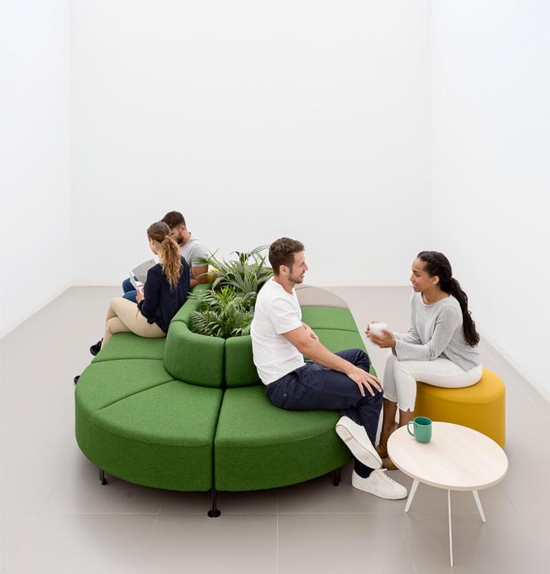 Modulaire meubels van actiu voor een flexibele werkplek versheid - Kantoor modulaire interieur ...